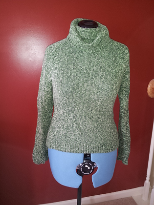 Green Sweater Size XL