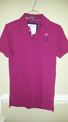 Aeropostale solid pique polo Size XS