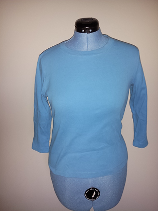 Blue Long Sleeve Tee Size L