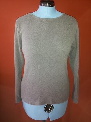 Grey Long Sleeve T-Shirt Size XL