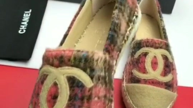 Chanel Suede Loafers