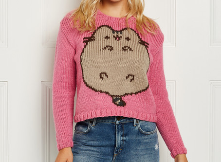 Knit Now Issue 119 Pusheen Jumper