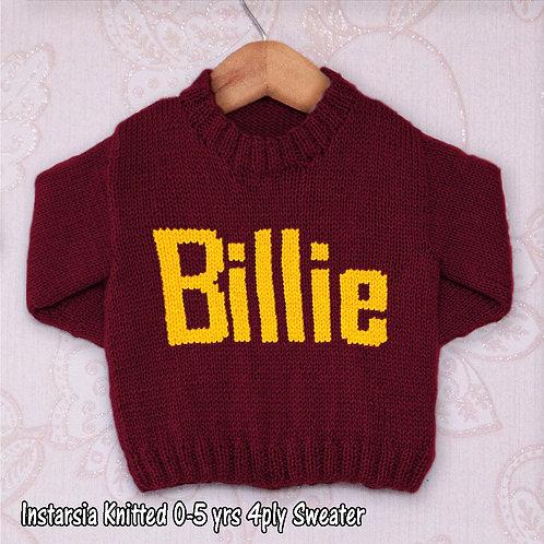 Billie Moniker - Chart Only