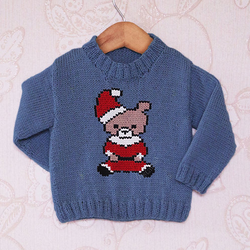 Santa Teddy - Chart Only