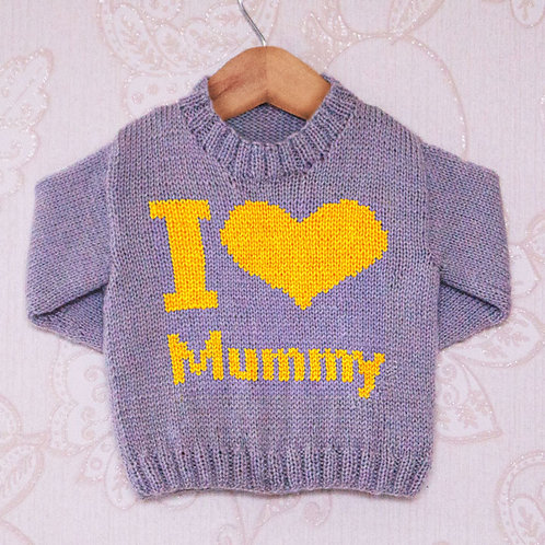 I Heart Mummy - Chart Only
