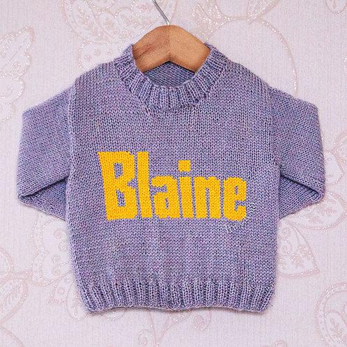 Blaine Moniker - Chart Only