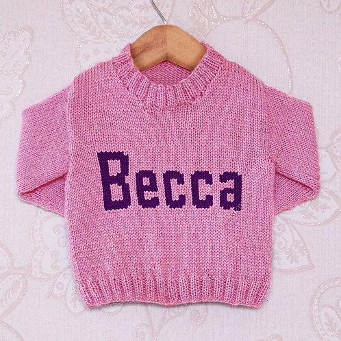 Becca Moniker - Chart Only
