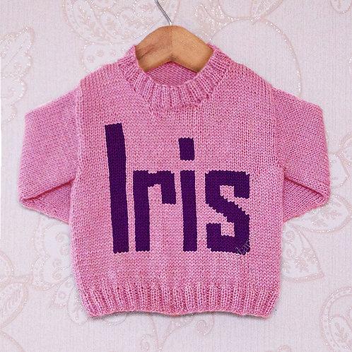 Iris Moniker - Chart Only