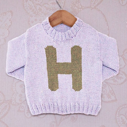Letter H  - Chart Only