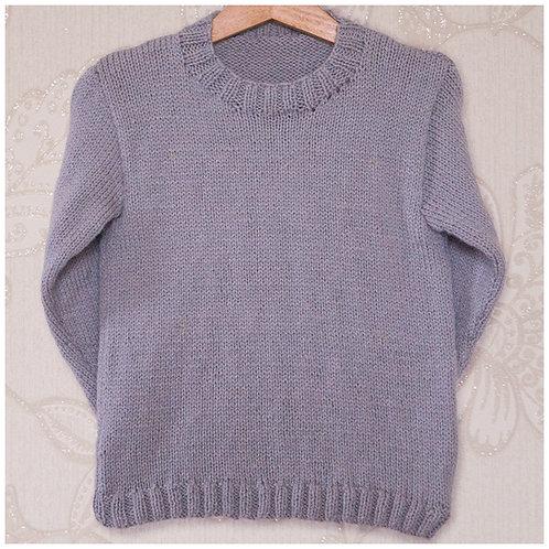 Instarsia - Base Pattern - DK Sweater - NEW : 0 to 13 years