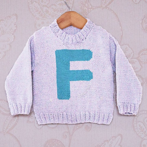 Letter F - Chart Only