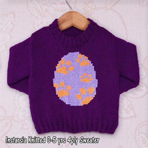Egg of Paw Prints
