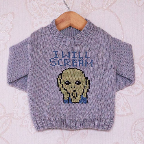 I Will Scream - Chart Only