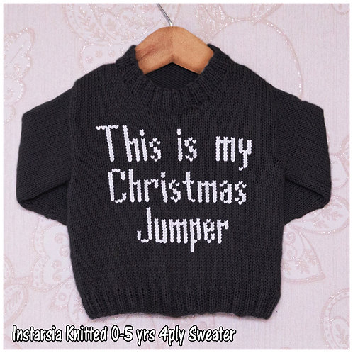 This is my Christmas Jumper - Chart Only