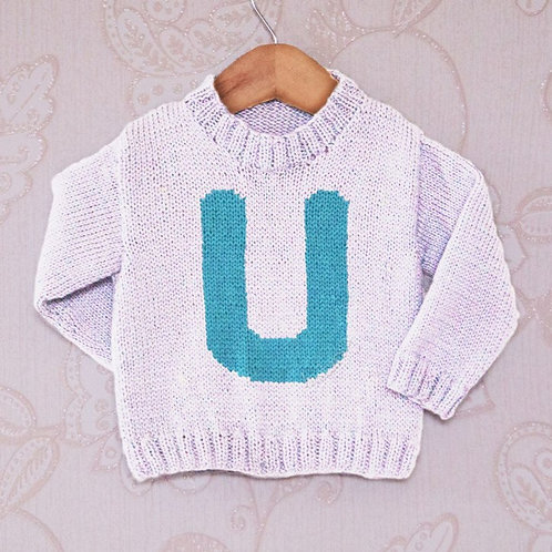 Letter U - Chart Only