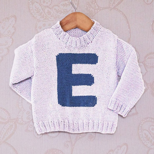 Letter E - Chart Only