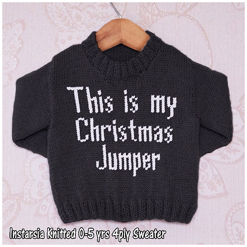 This is my Christmas Jumper
