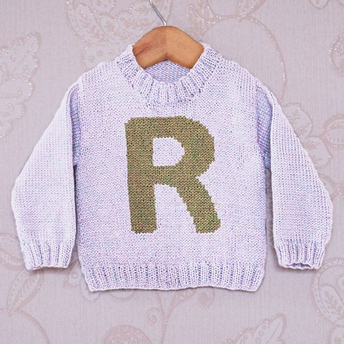 Letter R - Chart Only