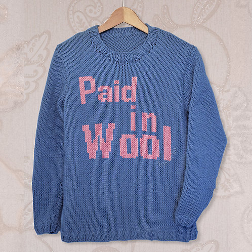 Paid In Wool - Chart Only