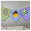 Thumbnail: Instarsia - Base Pattern - Bunting
