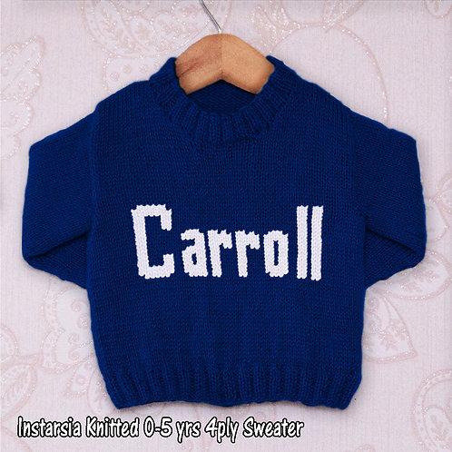Carroll Moniker - Chart Only