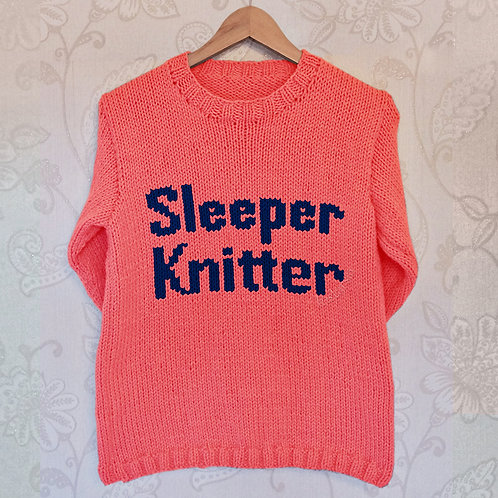 Sleeper Knitter - Chart Only