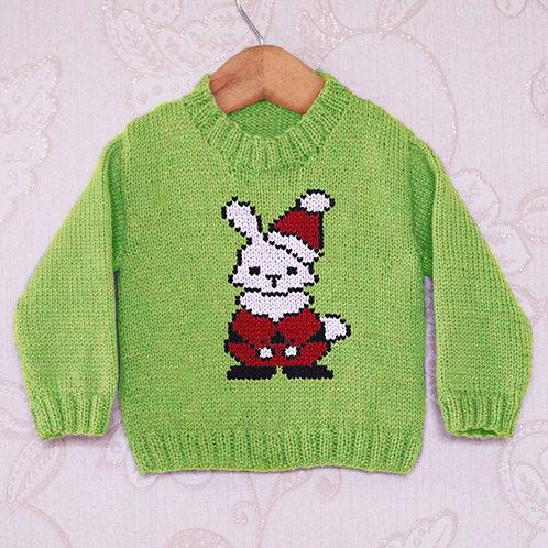 Santa Bunny - Chart Only