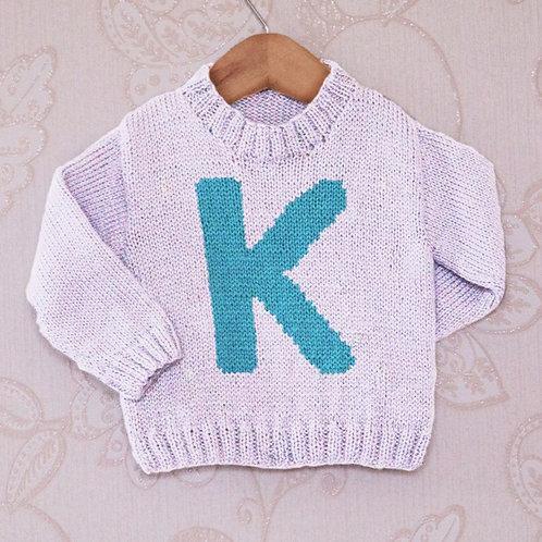 Letter K - Chart Only