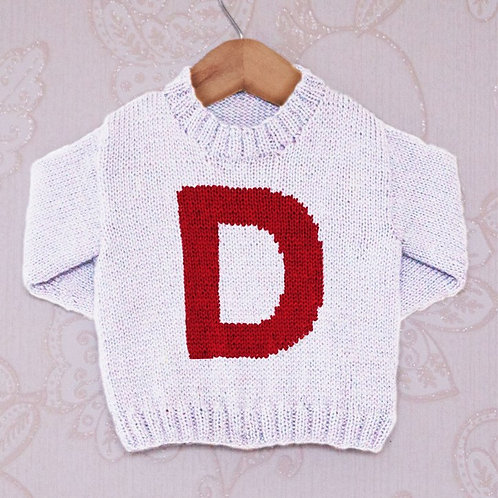 Letter D - Chart Only