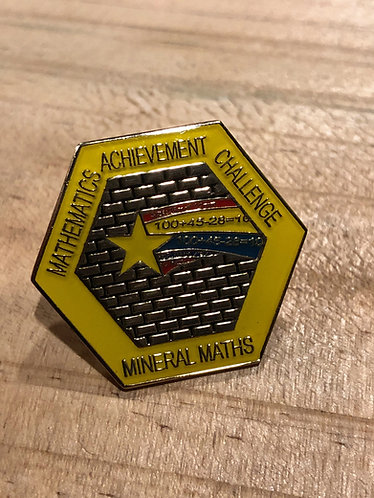 Mineral Maths Badge