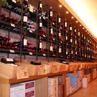 Cave à vin au Centre Bohey à Doncols