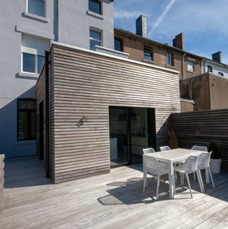 Terrasse et bardage en padouk