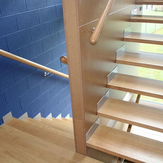 Escalier à l'Ordre des Architectes
