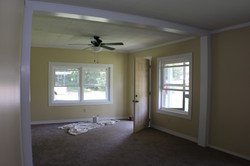 During Reno- Living Room
