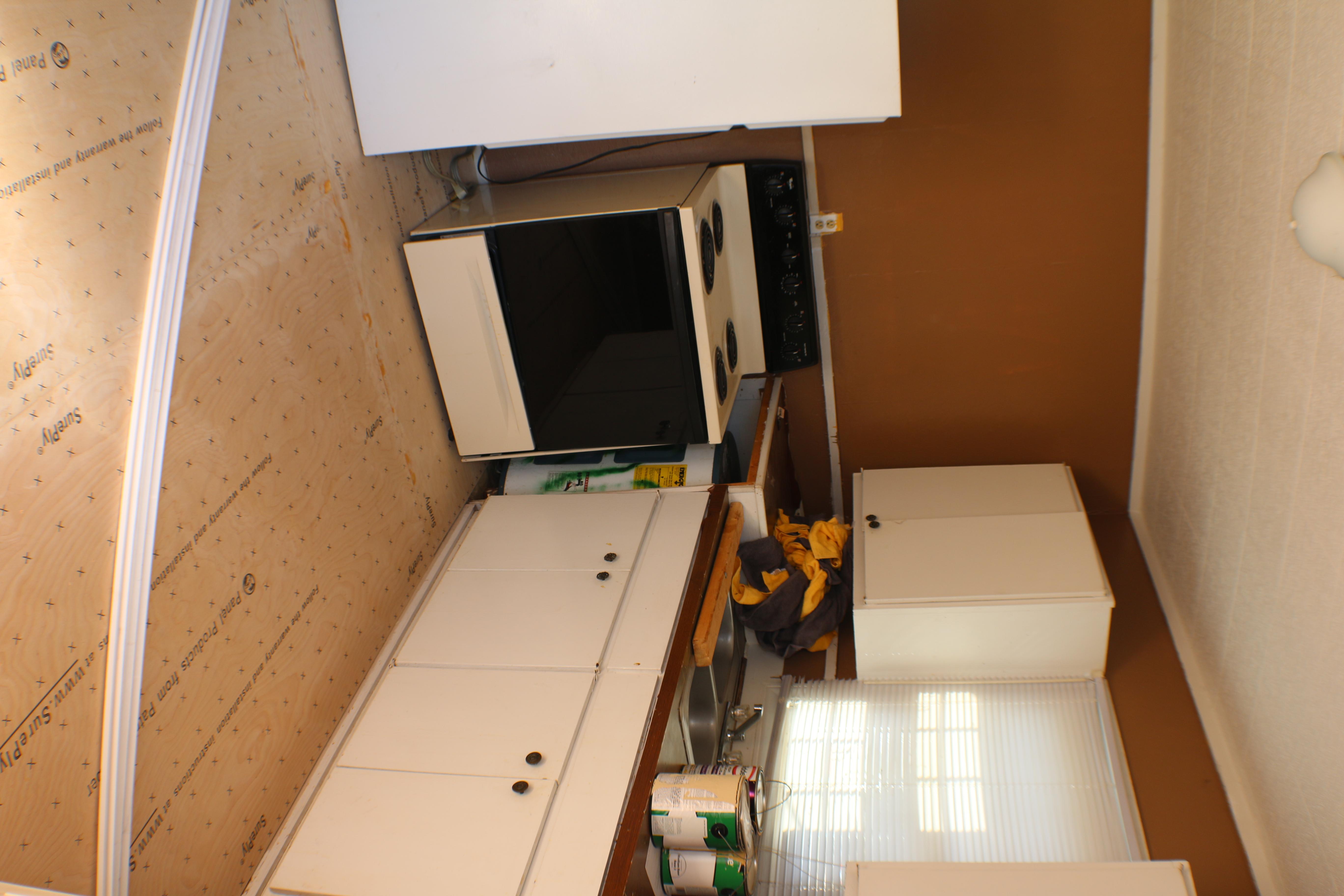 During Kitchen Step 1(Floor)
