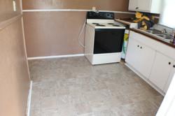 During Kitchen Step 2(Floor)
