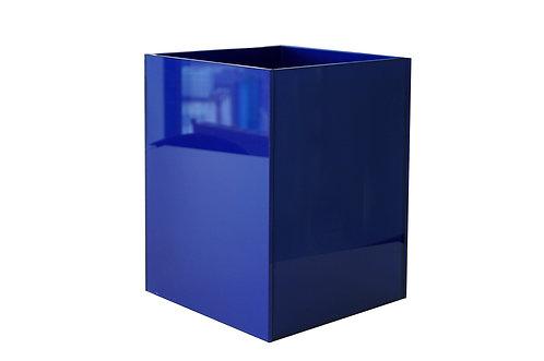 Аренда кашпо 300х300х400h, окрашенное стекло