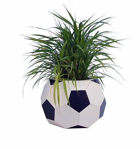Аренда кашпо в форме мяча  570х400h мм