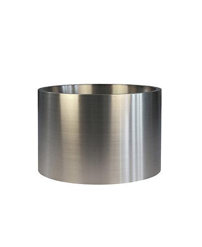 Кашпо Ф600мм, нержавеющая сталь