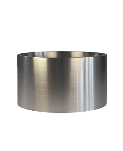 Кашпо Ф800 мм, нержавеющая сталь