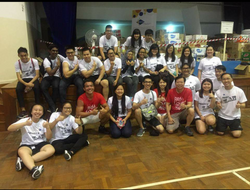 With KPCC Volunteers After Canned Food Packing