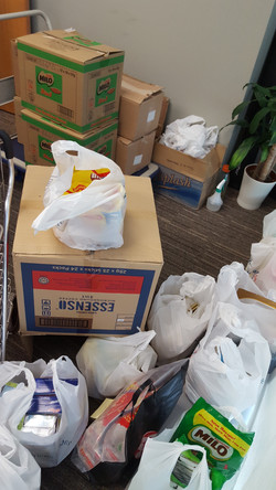Canned Food Collected from Office