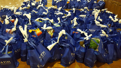 Bags Ready for Distribution