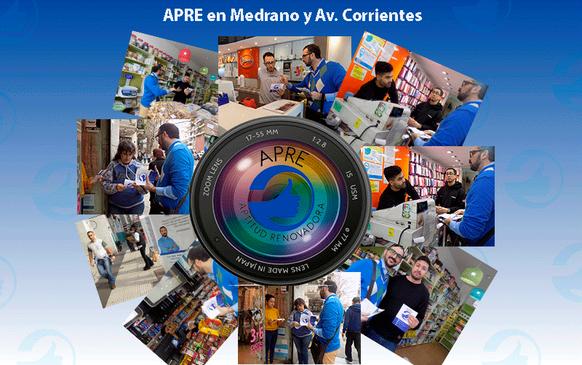 APRE recorre los barrios porteños: Medrano y Av. Corrientes
