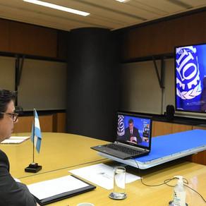 Participación de Claudio Moroni, Ministro de Trabajo, Empleo y Seg. Social de la Nación en la OIT