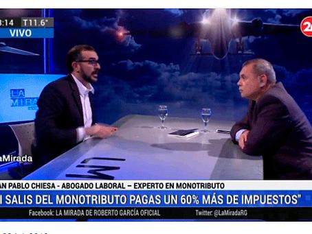 Juan Pablo Chiesa, entrevista en La Mirada