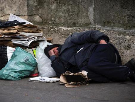 Frente a la Noche más Fría más Acción con la Gente en Situación de Calle