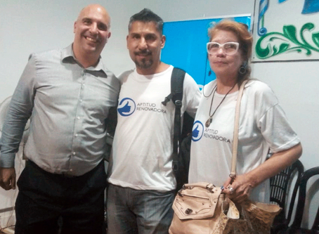 APRE Presente en Charla Abierta para Adultos Mayores a Cargo de Santiago Fraschina