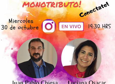 Hoy, Luciana Osacar y Juan Pablo Chiesa, hablan de monotributistas expulsados , por redes sociales
