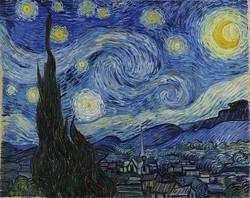 """""""ליל הכוכבים"""" של ואן גוך"""